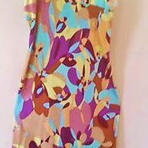 Express 100% Silk Dress Women's Size M 9/10 Photo
