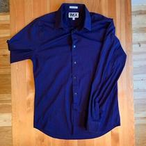 Express 1mx Extra Slim Fit Purple Dress Shirt L (16-16 1/2) Photo