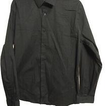 Express 1mx Men's X-Large 17-17 1/2 Button Down Extra Slim Formal Shirt(l8 Photo