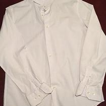 Express 1mx Mens Large Modern Fit White Photo