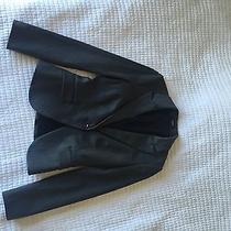 Express 3 Pieces Suit Charcoal Grey Size 0 Jacket Pants Skirt Photo