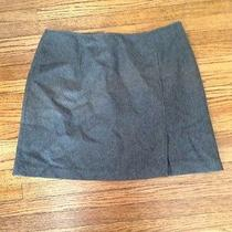 Express 5/6 Grey Wool Skirt Photo