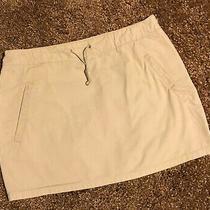 Express 90s Khaki Short Skirt W/ Pockets Sz 7/8 Photo