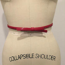 Express  Adjustable Narrow Belt W/ Bow Red-Size S/m  Photo