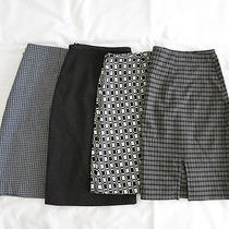 Express Ann Taylor American Eagle Outfitter - Lot of 4 Skirts Photo