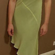 Express Assymetrical Dress -Light Green - Size 3/4 Photo