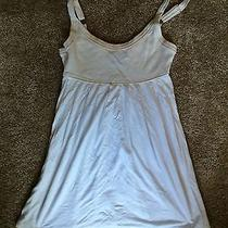 Express Baby Doll Dress Size Xsmall White Dress Summer Dress Photo