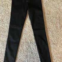 Express Balck Jean Leggings Size 2 R  Photo