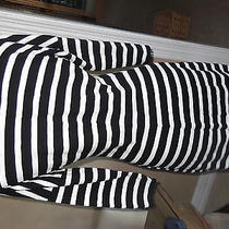 Express Black and White Dress Size Med. Photo