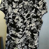 Express Black and White Shirt  Photo