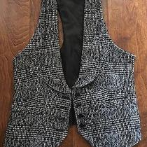 Express Black and White Tweed Vest. Size 0 Photo