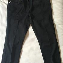 Express Black Capris Size 6 Photo