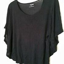 Express Black Crop Top Size Small Photo