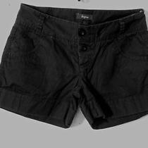 Express Black Cuffed Shortssize 2 Photo