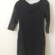 Express Black Dress Size M  Photo