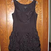 Express Black  Dress Size2 Gathered Bubble Fun  Photo