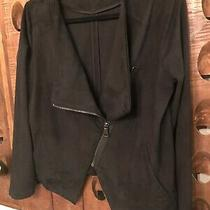 Express Black Fabric Motorcycle Jacket L Photo