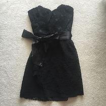 Express Black Lace Dress Photo