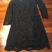 Express Black Lace Dress Photo