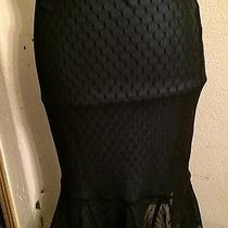 Express Black Lace Skirt Women's Sz Xs Photo