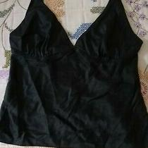 Express Black Lingerie Cami Camisole Nightie Top Size 2 Photo