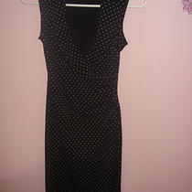 Express Black Polka Dot Dress Size 1/2 Very Cute... Photo