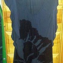 Express Black Sequin Dress Photo