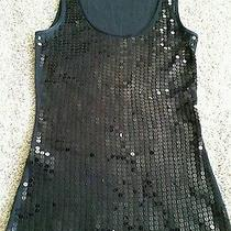 Express Black Sequin Tank Photo