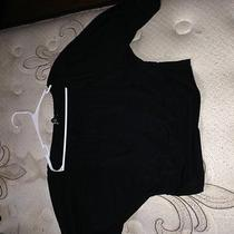 Express Black Short Cinched Shirt Size M Photo