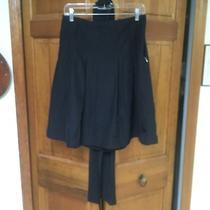 Express Black Skirt With Tie Belt Photo