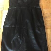Express Black Strapless Dress Women's Size 6   Photo