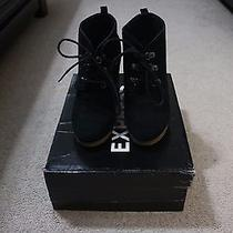 Express - Black/suede (Size 6.5) Women Shoes Photo