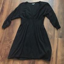 Express Black Sweater Dress Size Xs Photo