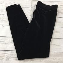 Express Black Velvet Leggings Size Small Women's Bottoms S Photo