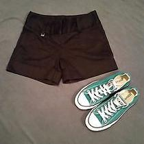 Express Black Women's Shorts Size 0 Photo