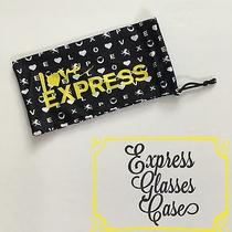Express Black & Yellow Sunglasses Eyeglasses Holder Case Size 3.5x7 Photo