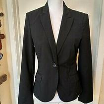Express Blazer Size 8 Dark Grey Color. Business Photo