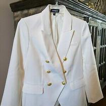 Express Blazer White 4 New Photo