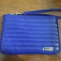Express Blue Clutch-Wristlet Quilted Design Photo