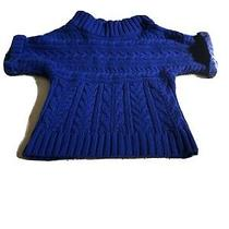 Express Blue Short Sleeve Sweater Size Xs Photo