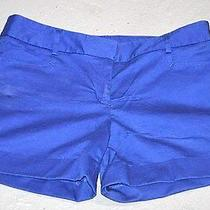 Express Blue Shorts New Short 4 Four Ladies Summer Fall Back to School Fashion Photo