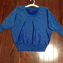 Express Blue Top Size S Photo