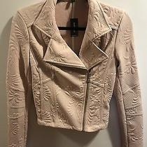 Express Blush Moto Jacket Nwt Size Small Photo