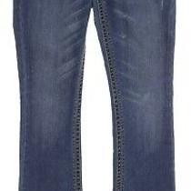 Express Boot Cut Jeans 4 R Womens 32 Inseam Low Rise Stretch Denim Flap Pocket Photo