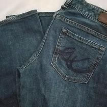 Express Boot Cut Jeans Sz 4l Euc Photo