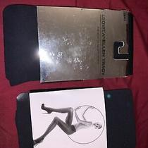 Express Brand Black Tights Pantyhose S/m and Leg Wear Ellen Tracy Tights Small Photo