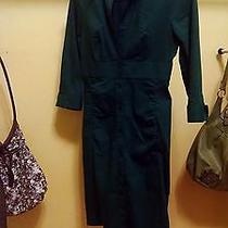 Express Brand Button Front Fitted Wear to Work Dress Photo