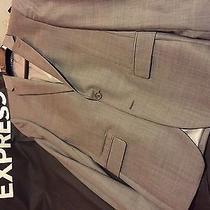 Express Brand Sport Jacket Dark Grey Like New Photo