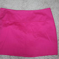 Express Bright Pink Stretch Skirt 6 Photo