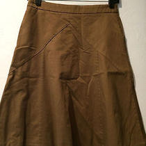 Express Brown a Line Skirt Size 0 Photo